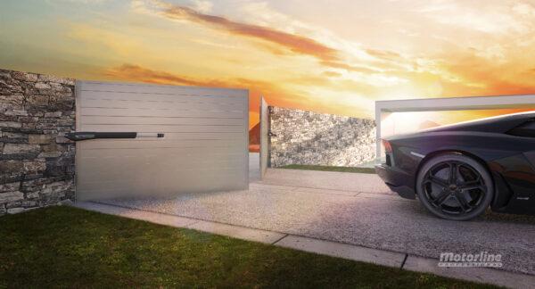 Kit motor batiente Motorline Jag 400 puerta doble hoja