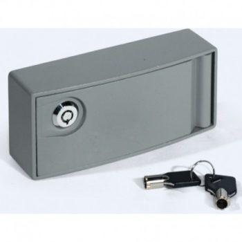 Caja metalica desbloqueo motor enrollable CSV1
