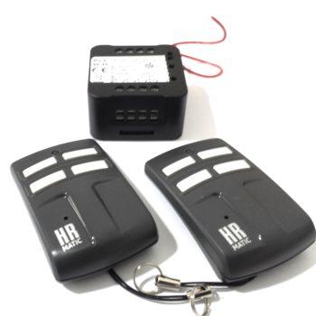 Kit receptor RX Minicom con mandos HR Matic Multi 4