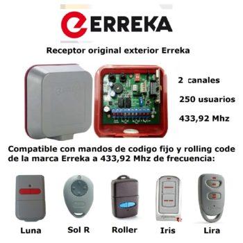 Erreka IRIN2S Receptor exterior