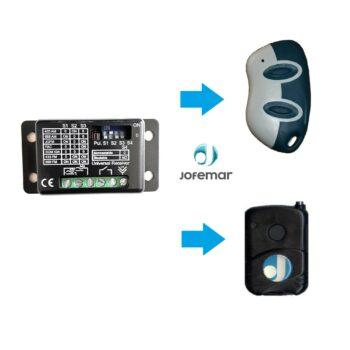 Receptor compatible con mandos Jofemar máquina tabaco